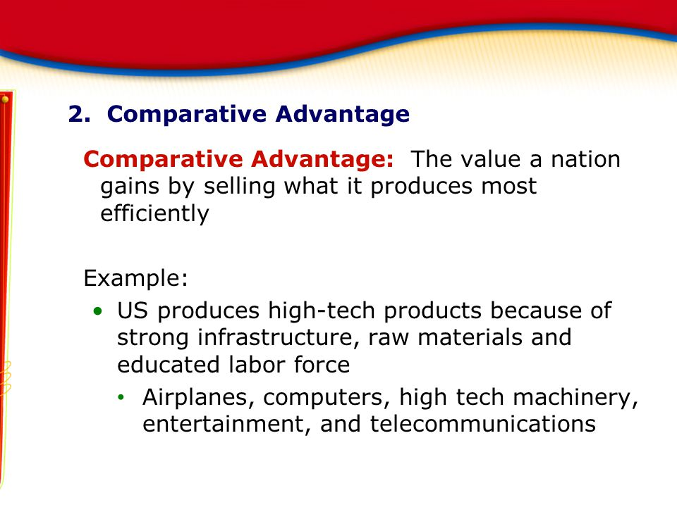 2. Comparative Advantage