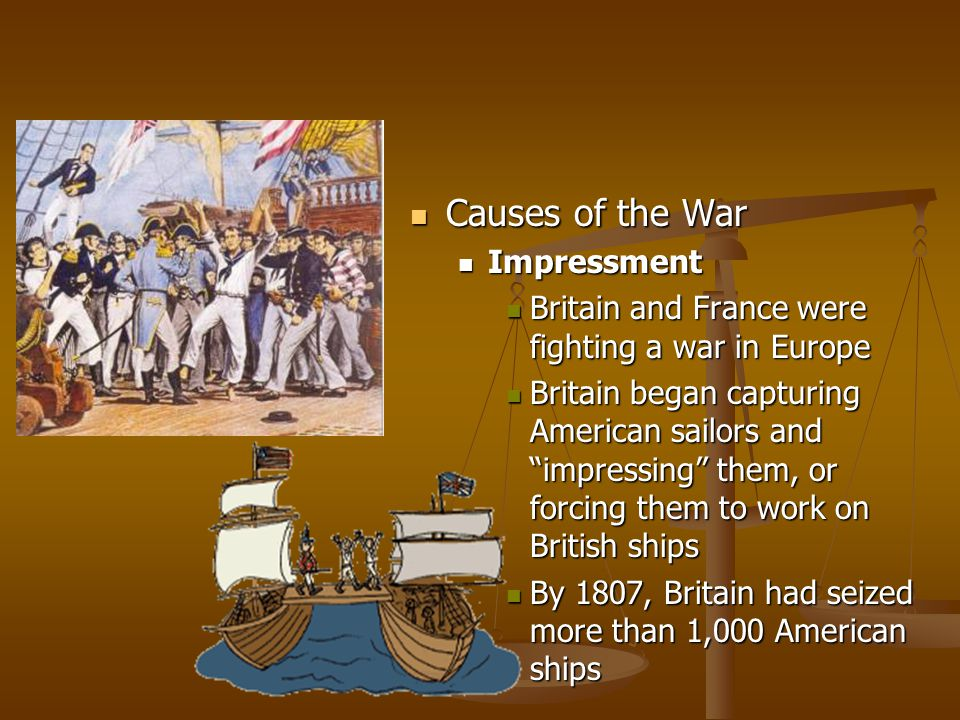 Causes of the War Impressment