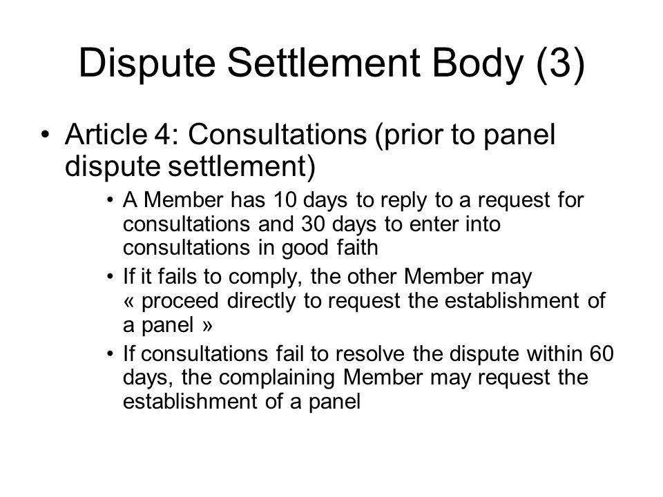 Dispute Settlement Body (3)