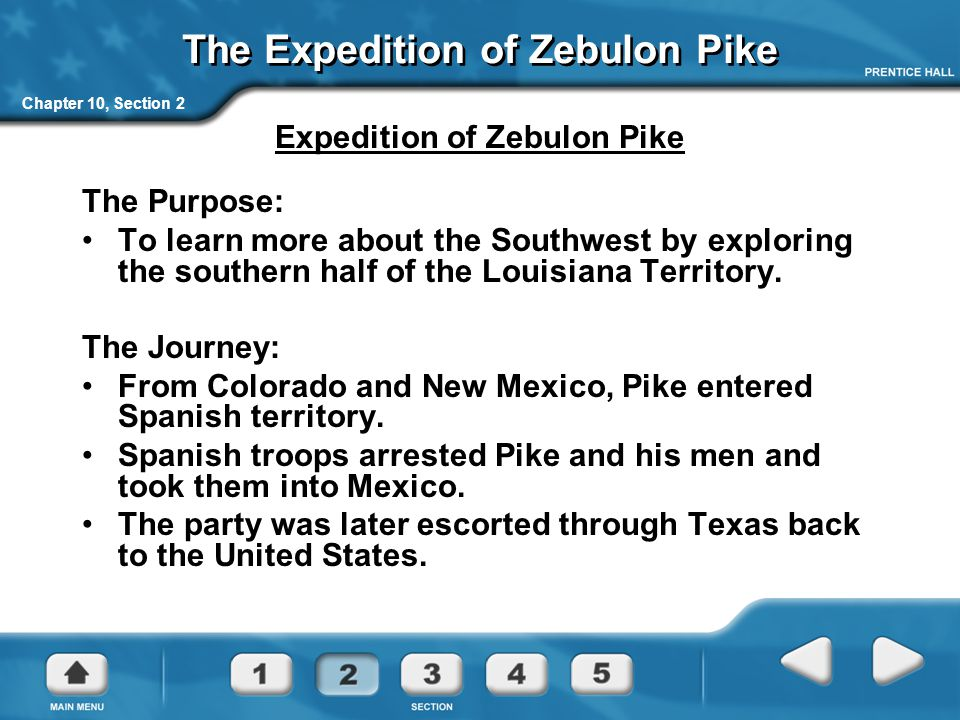 The Expedition of Zebulon Pike