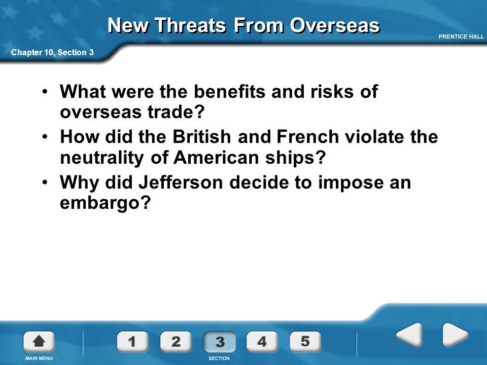 New Threats From Overseas