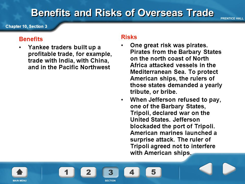 Benefits and Risks of Overseas Trade