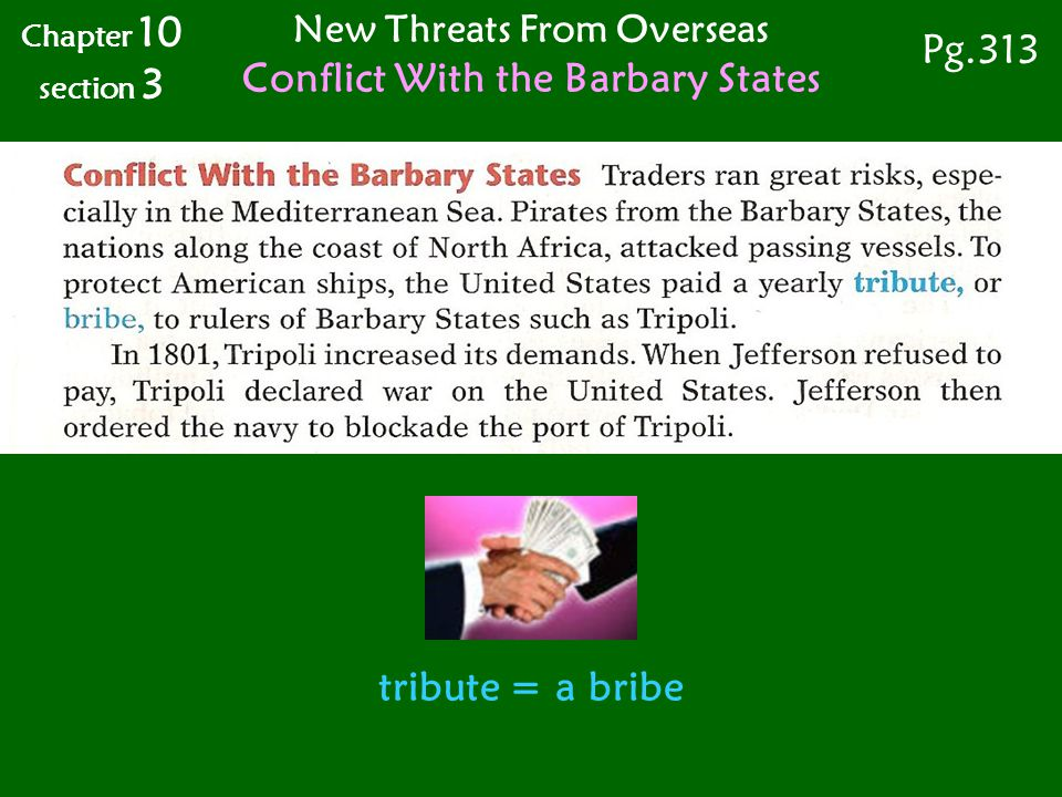 New Threats From Overseas Conflict With the Barbary States