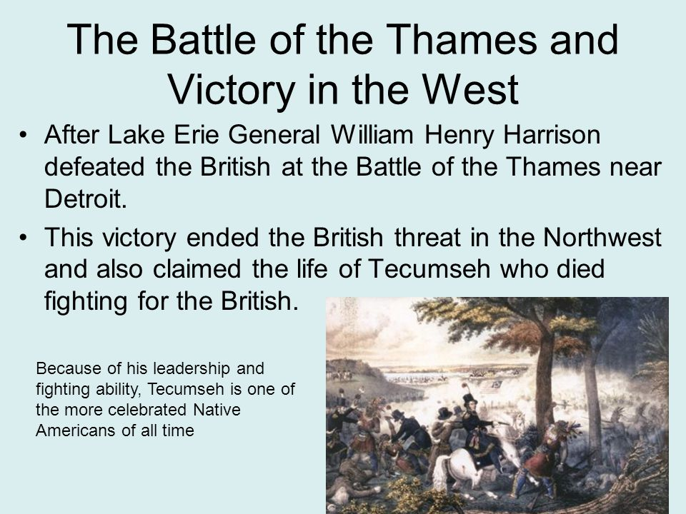 The Battle of the Thames and Victory in the West