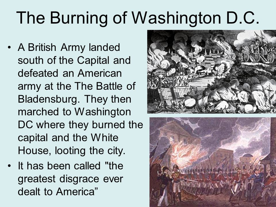 The Burning of Washington D.C.