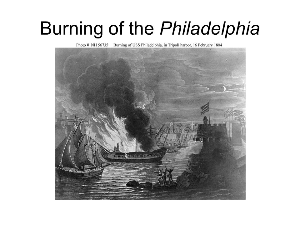 Burning of the Philadelphia