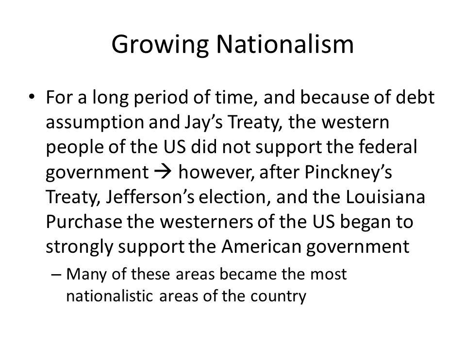 Growing Nationalism