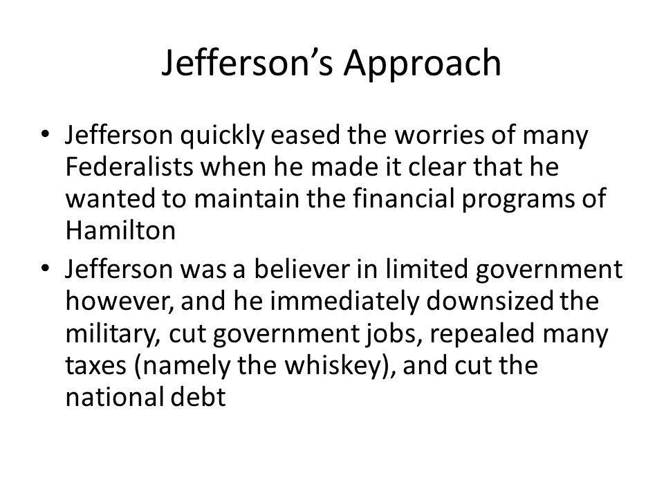 Jefferson's Approach