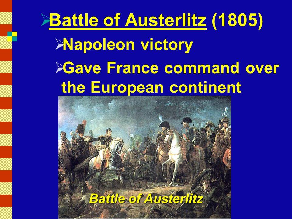 Battle of Austerlitz (1805)