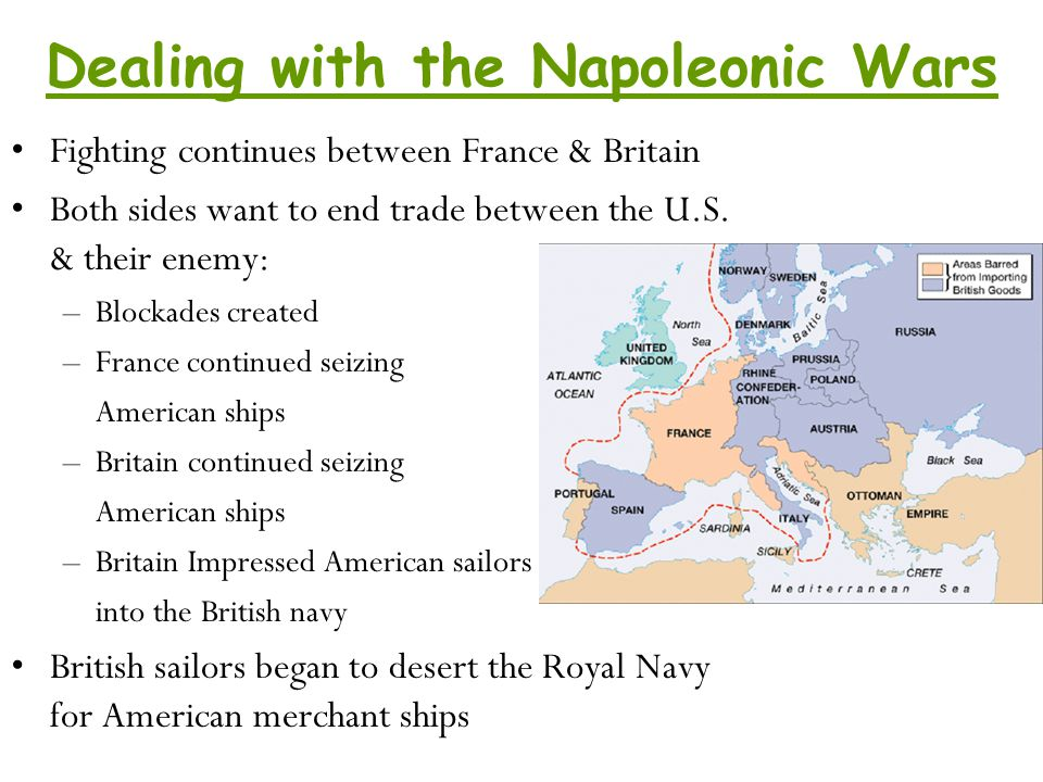 Dealing with the Napoleonic Wars