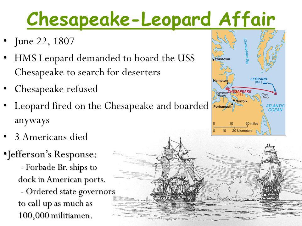 Chesapeake-Leopard Affair