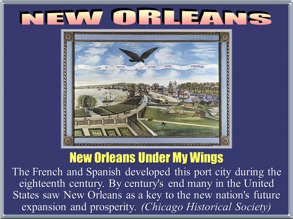 New Orleans Under My Wings