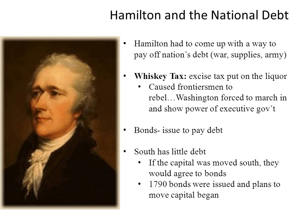 Hamilton and the National Debt