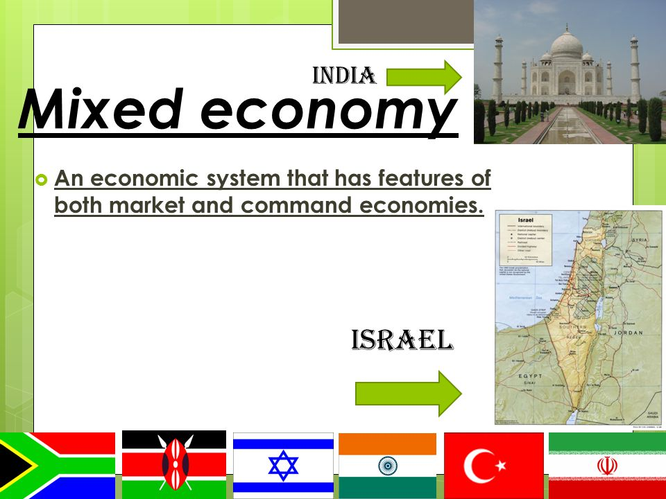 mixed economy and its features