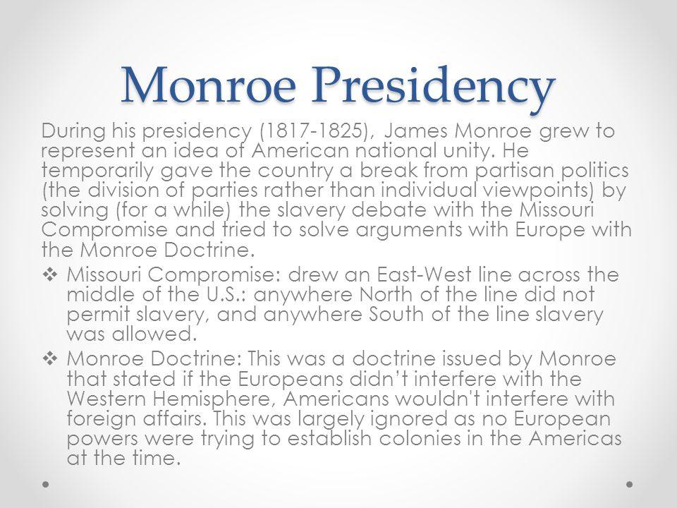 Monroe Presidency