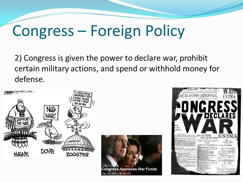Congress – Foreign Policy