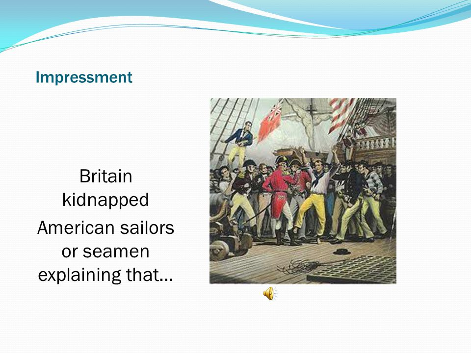 American sailors or seamen explaining that…