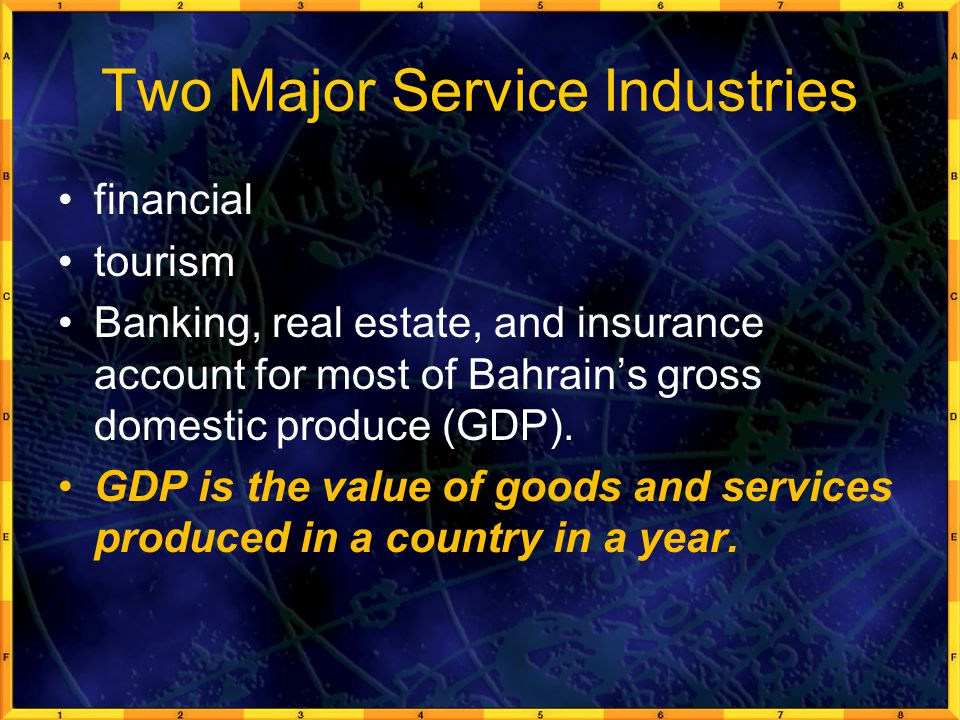 Two Major Service Industries