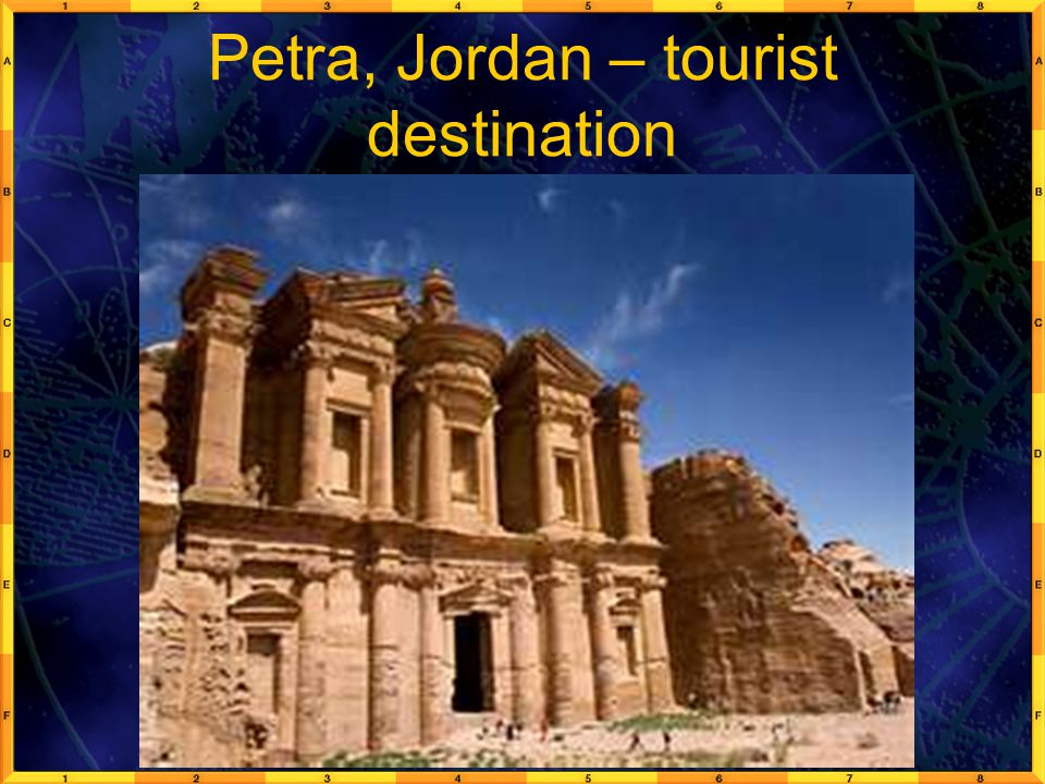 Petra, Jordan – tourist destination