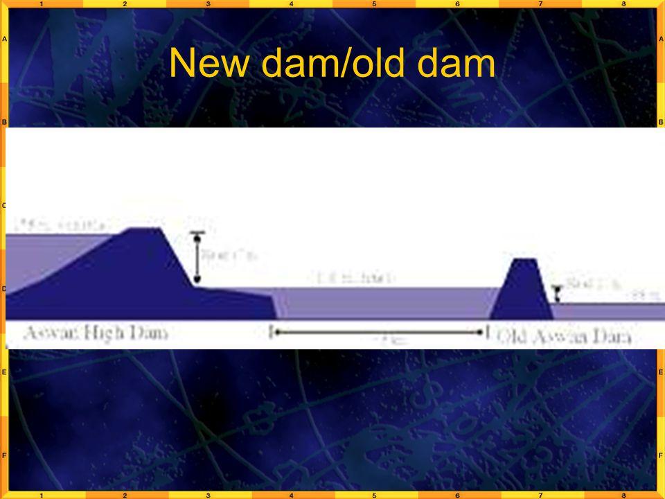 New dam/old dam