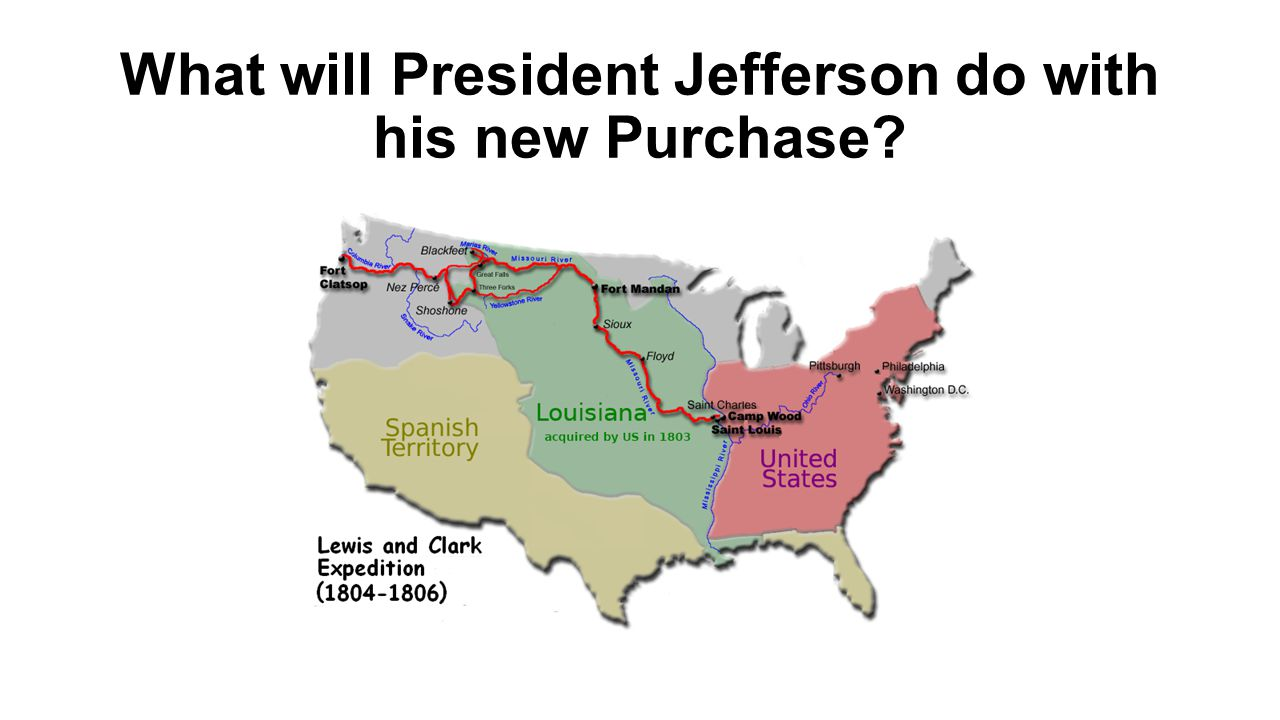 What will President Jefferson do with his new Purchase