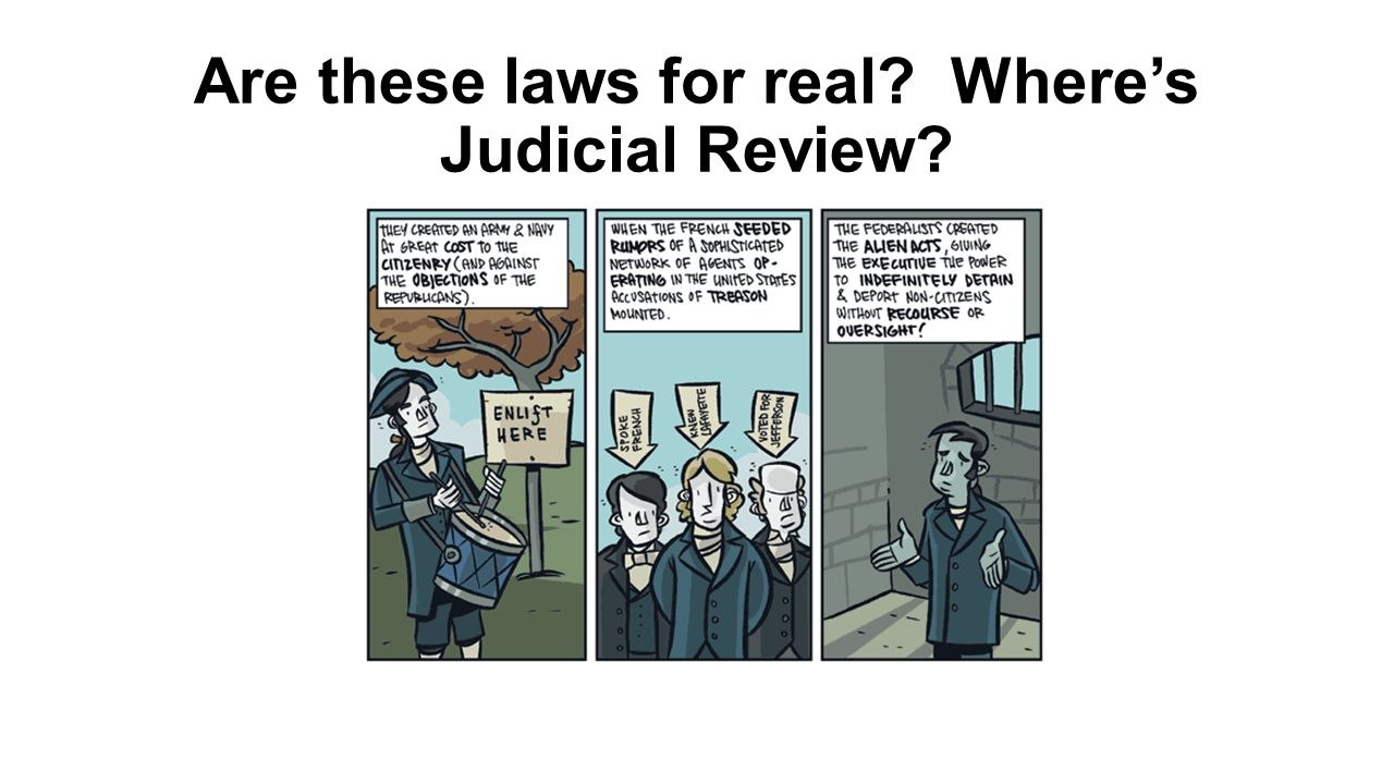 Are these laws for real Where's Judicial Review