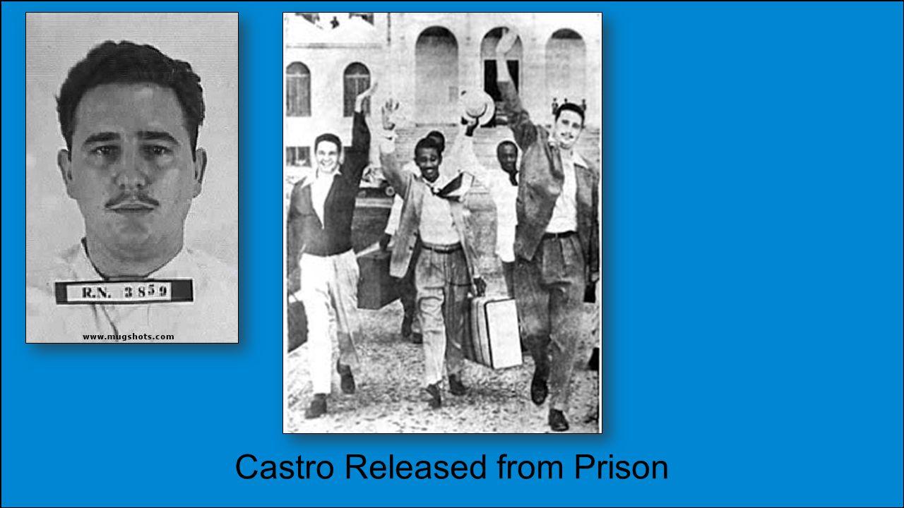 Castro Released from Prison