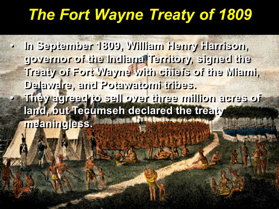 The Fort Wayne Treaty of 1809