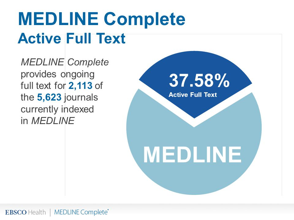 MEDLINE Complete Active Full Text