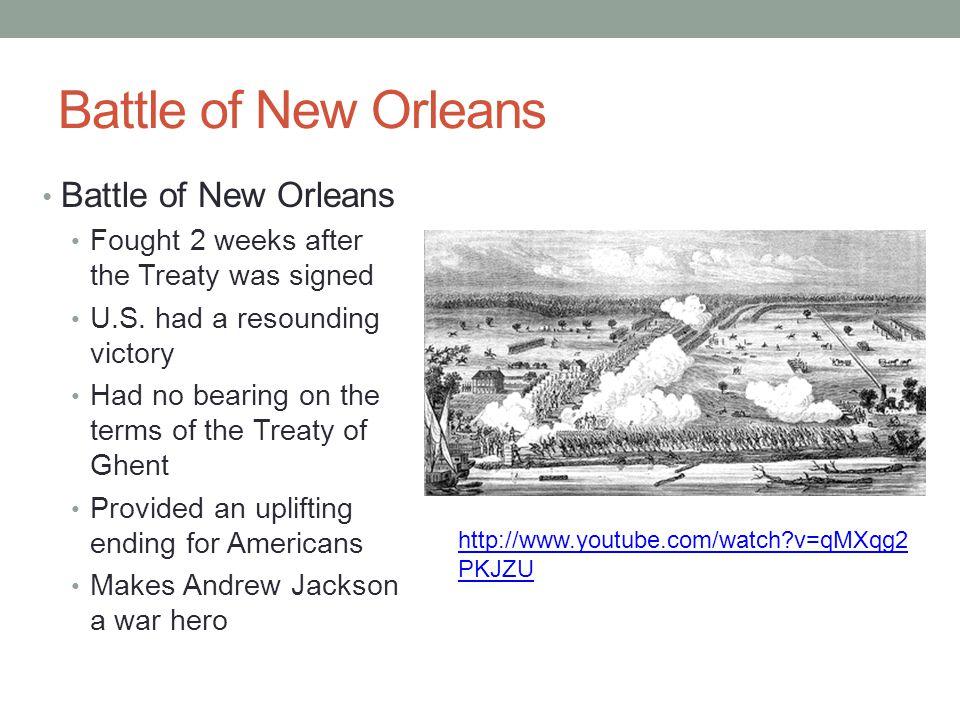Battle of New Orleans Battle of New Orleans