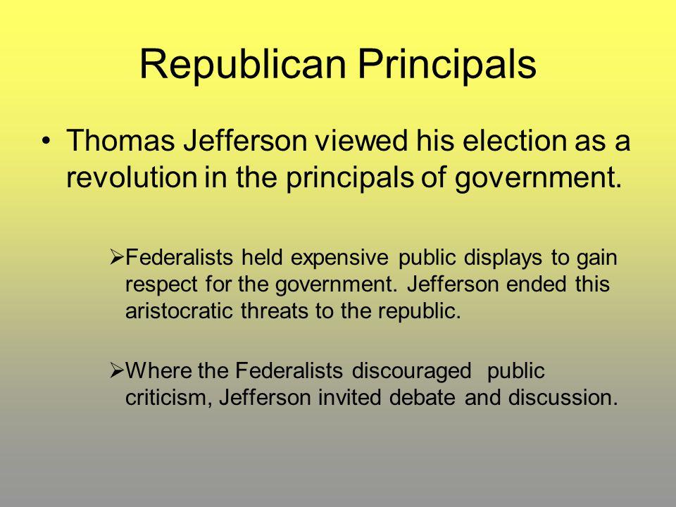 Republican Principals