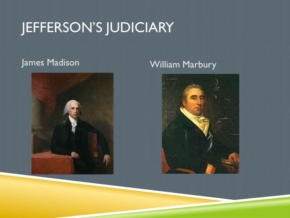 Jefferson's judiciary