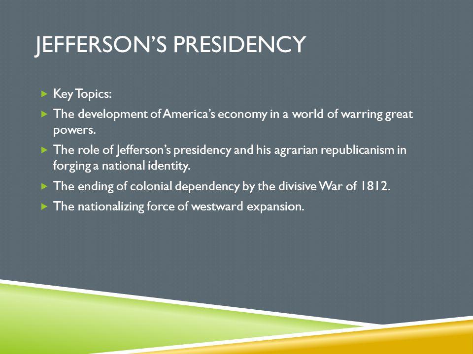 Jefferson's Presidency