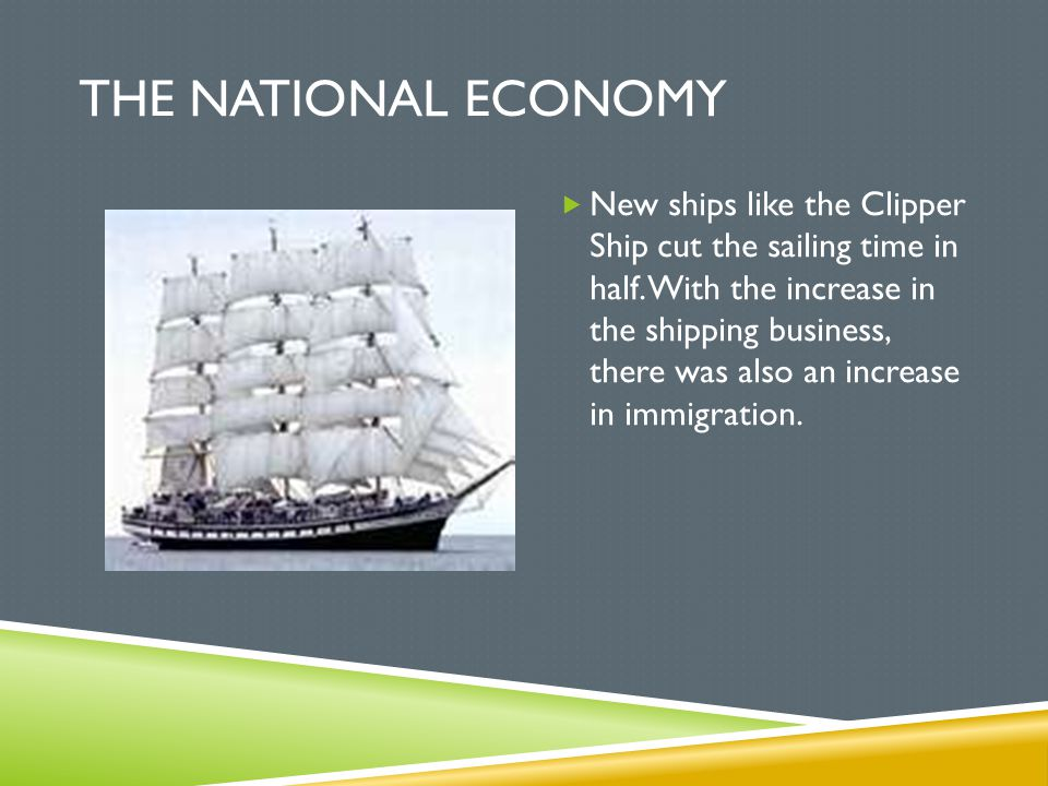 The National Economy