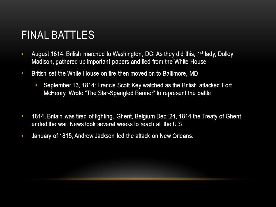 Final Battles