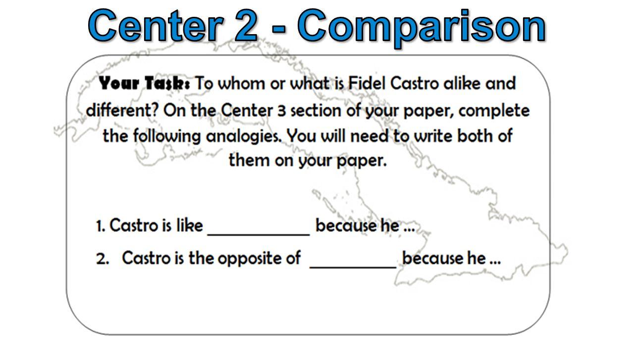 Center 2 - Comparison