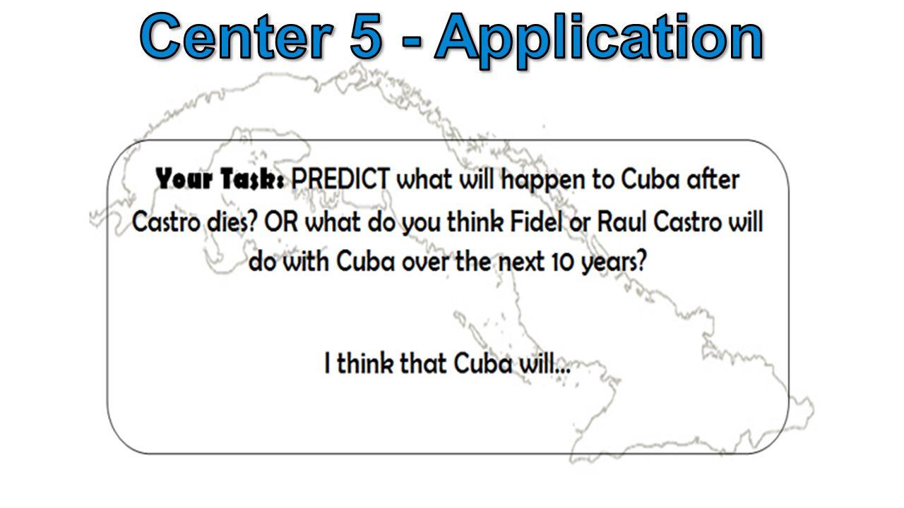 Center 5 - Application