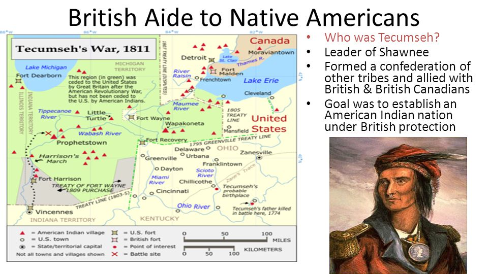 British Aide to Native Americans