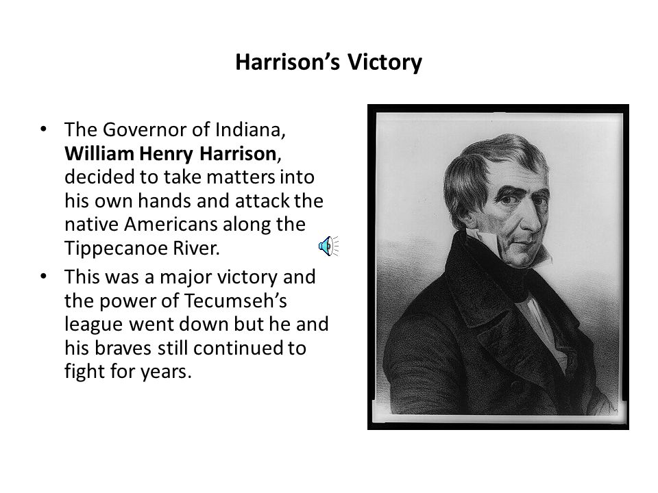 Harrison's Victory