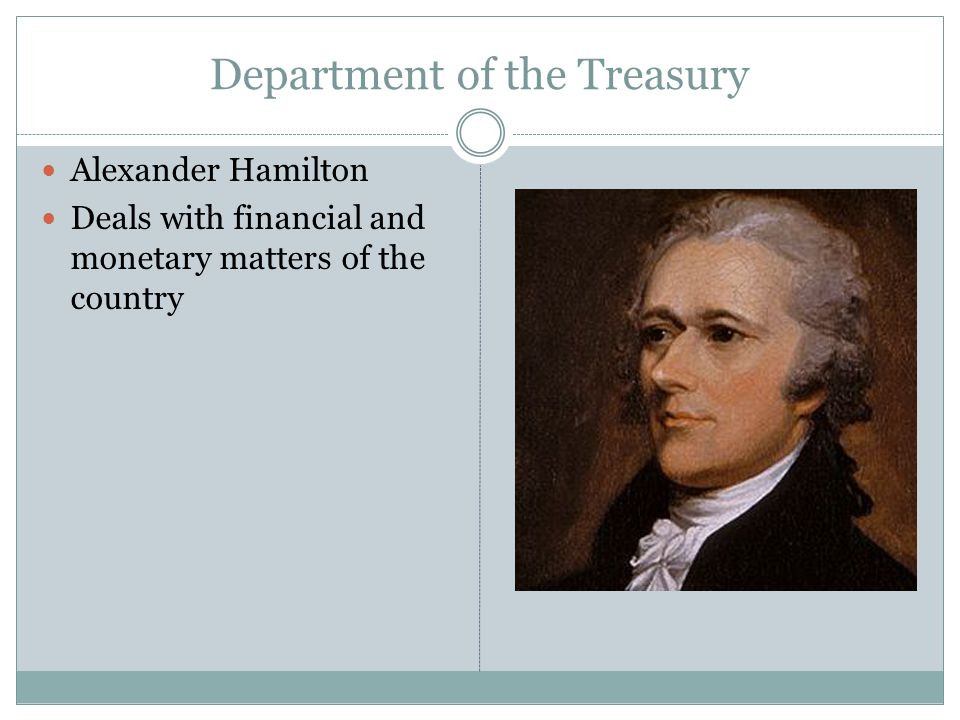 Department of the Treasury