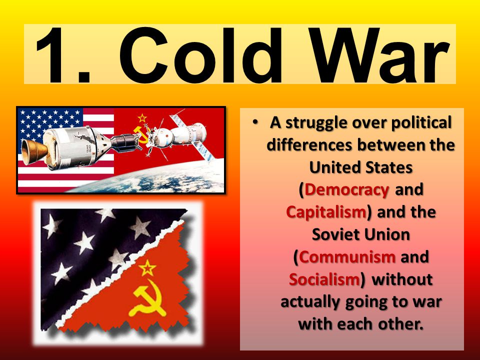 1. Cold War