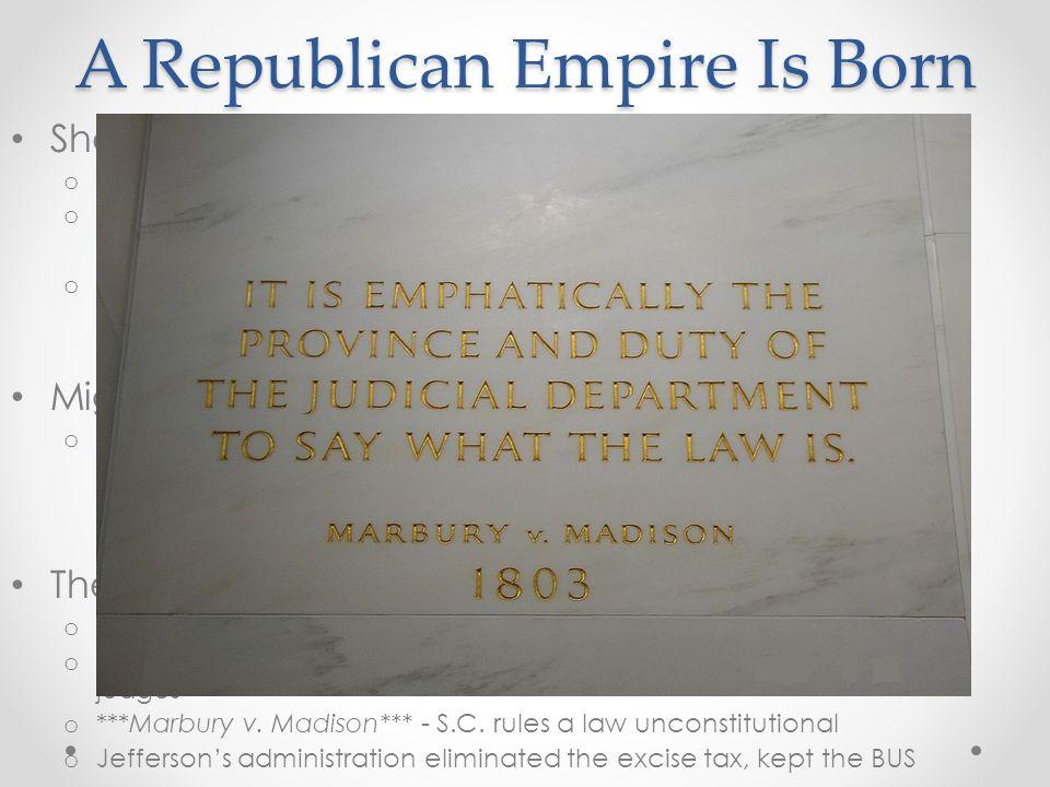 A Republican Empire Is Born