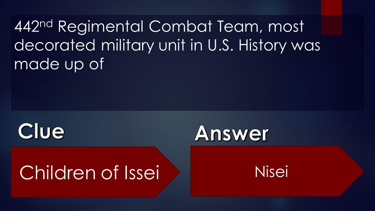 Clue Answer Children of Issei