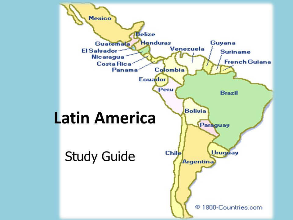 Sixth Grade (Grade 6) Latin America and Caribbean Questions