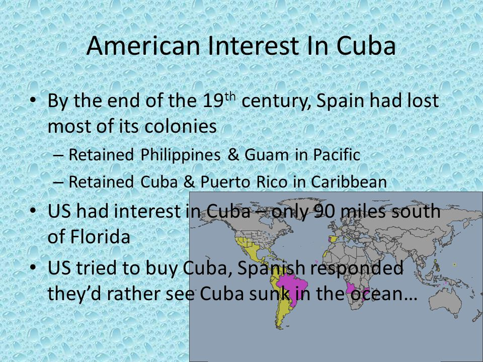 American Interest In Cuba