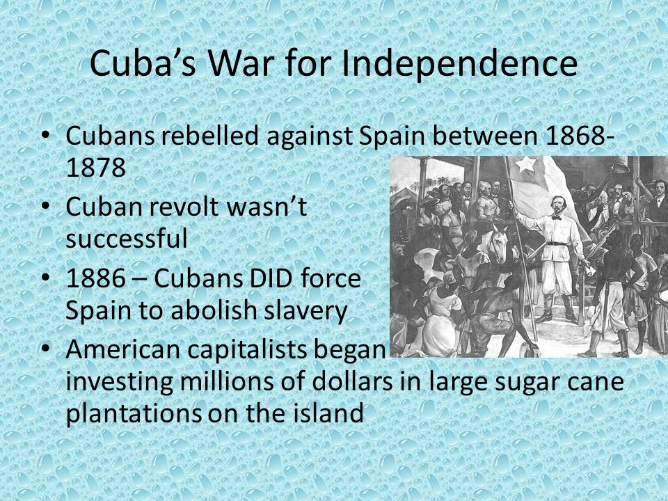 Cuba's War for Independence