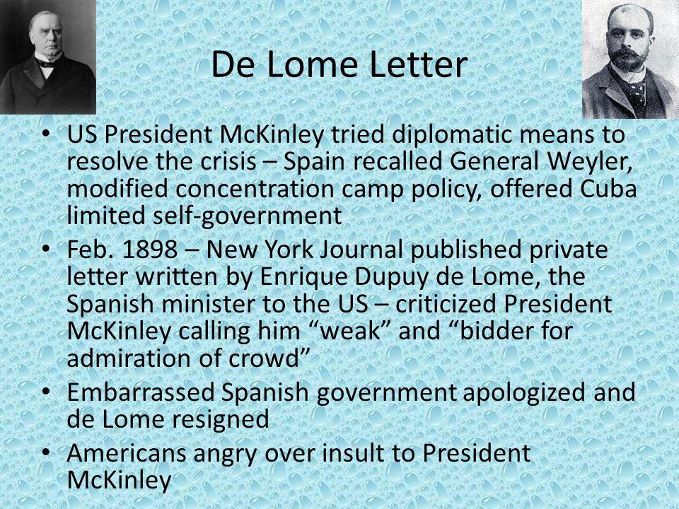 De Lome Letter