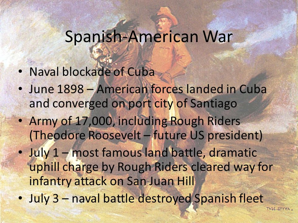 Spanish-American War Naval blockade of Cuba