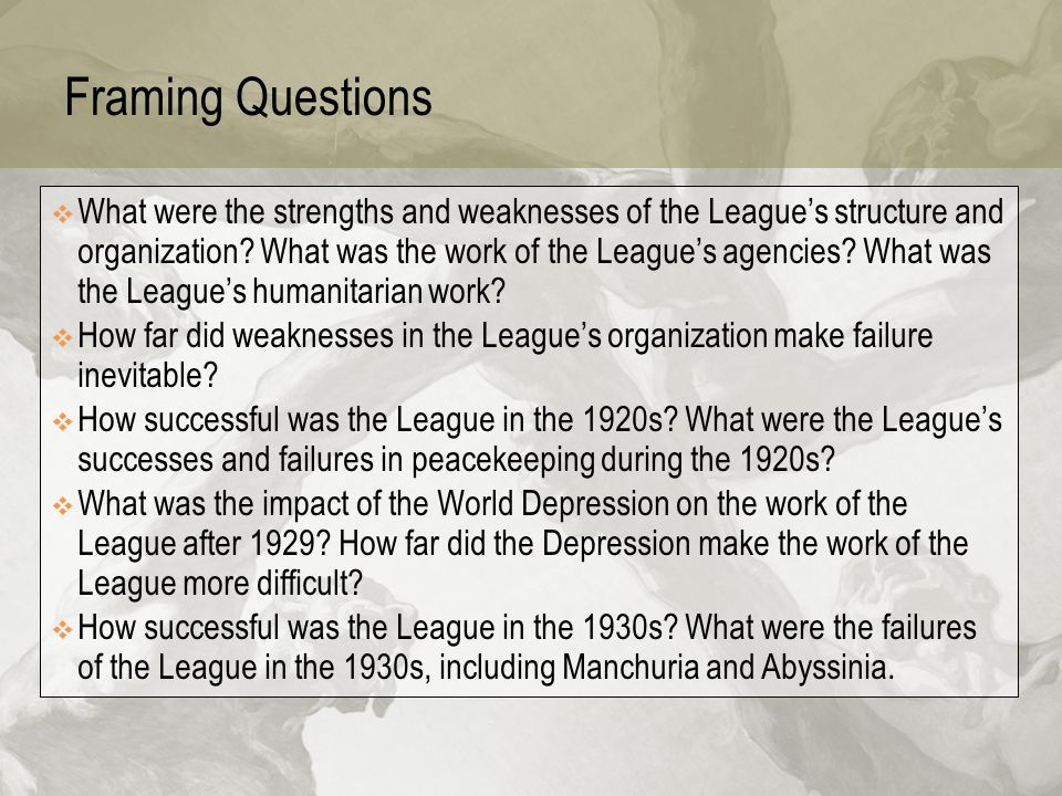 league of nations successes and failures pdf