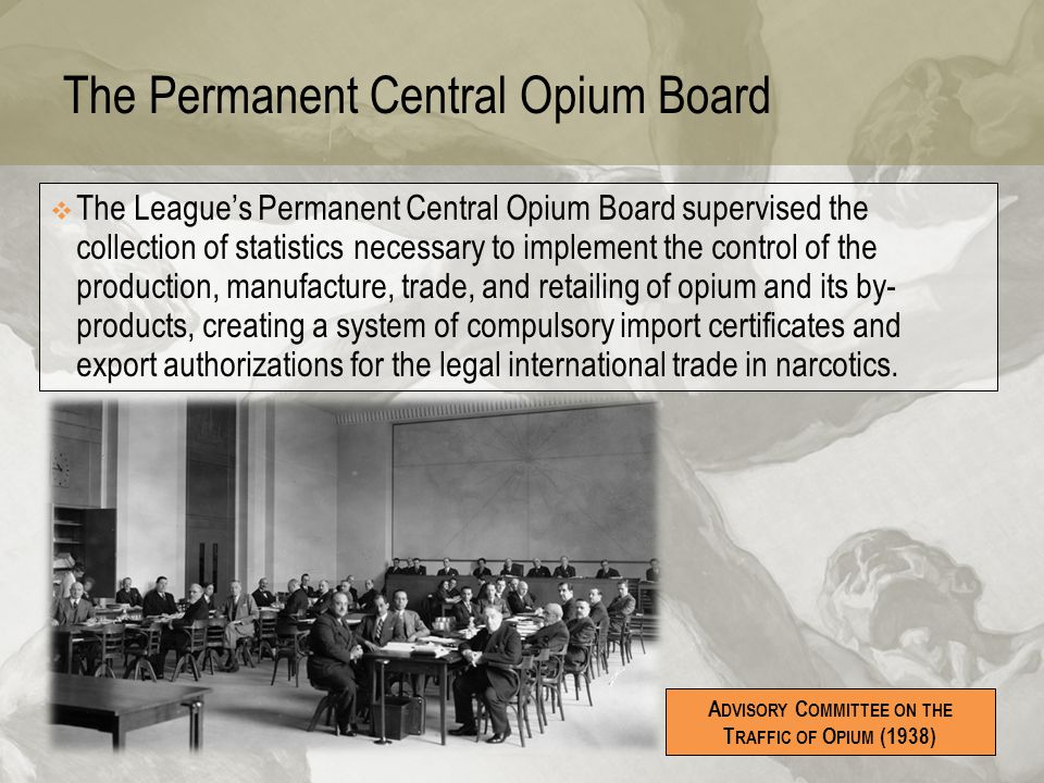 The Permanent Central Opium Board